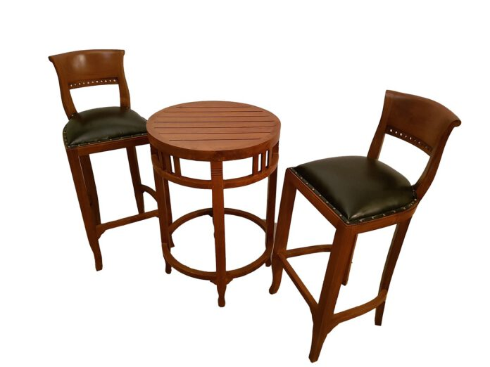 hokery i stolik