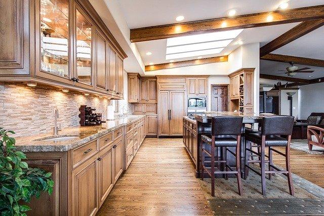 kuchnia z drewnem